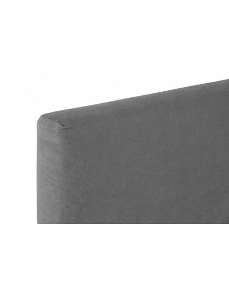 Sommier tapissier NEW YORK 2 x 17 lattes en bois de bouleau  hauteur 20 cm 90 x 190 cm