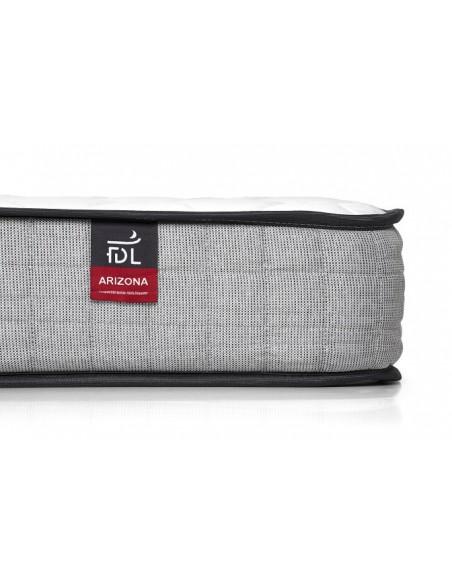 Matelas latex + 690  ressorts ensachés ALBATRE épaisseur 24 cm 5 zones de confort